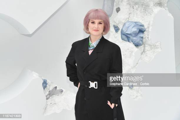 Kelly Osbourne attends the Dior Homme Menswear Spring Summer 2020 show as part of Paris Fashion Week on June 21 2019 in Paris France