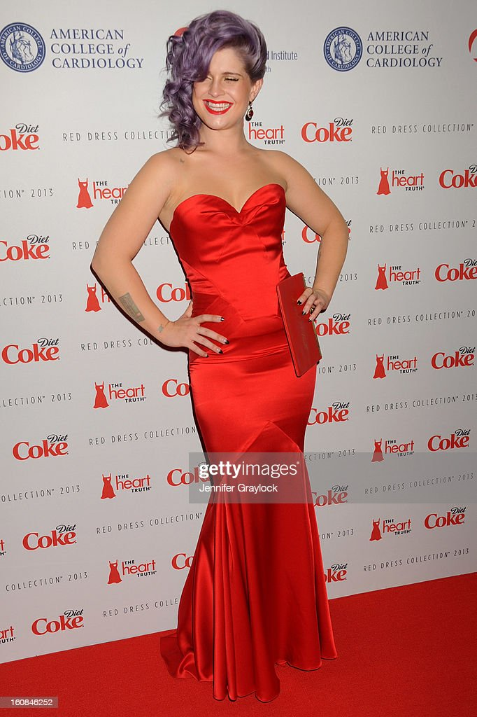 Kelly Osbourne attends The Heart Truth 2013 Fashion at Hammerstein Ballroom on February 6, 2013 in New York City.