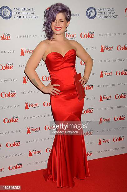 Kelly Osbourne attends The Heart Truth 2013 Fashion at Hammerstein Ballroom on February 6 2013 in New York City