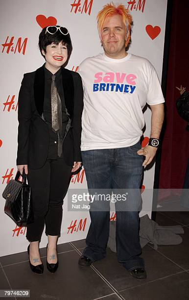 Kelly Osbourne attends the HM Regent Street Store launch party on February 13 2008 in London England