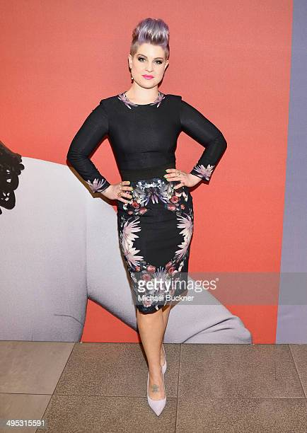 Kelly Osbourne attends the launch of the MAC Kelly Osbourne Collection at the MAC PRO North Robertson Store on June 2 2014 in Los Angeles California