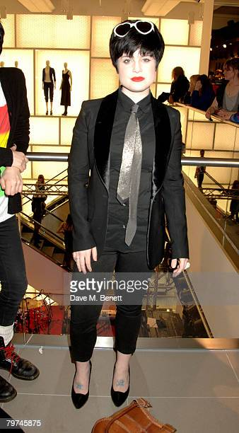 Kelly Osbourne attends the launch party for the new HM Regent Street flagship store at HM Regent Street on February 13 2008 in London England