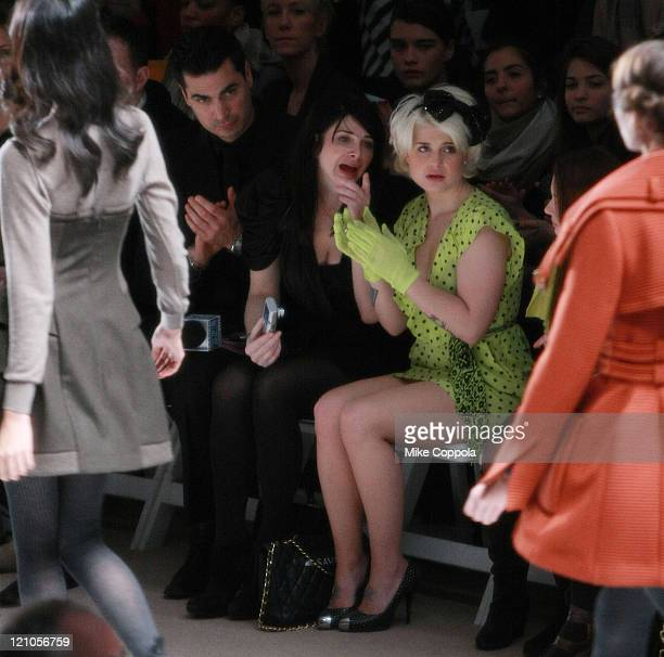 Kelly Osbourne attends the Nanette Lepore Fall 2010 fashion show during MercedesBenz Fashion Week at Bryant Park on February 17 2010 in New York City