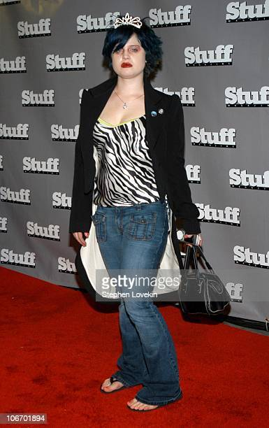 Kelly Osbourne during 2003 MTV Video Music Awards Stuff Magazine PreVMA Party Hosted By Missy Elliot and Dave Meyers at SHOW in New York City New...