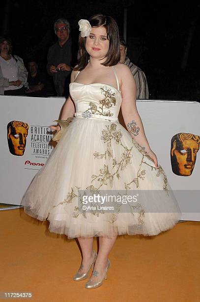 Kelly Osbourne during 2007 British Academy Television Awards – Reception and Party at Natural History Museum in London Great Britain