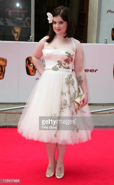 Kelly Osbourne during 2007 British Academy Television Awards Red Carpet Arrivals at London Palladium in London Great Britain