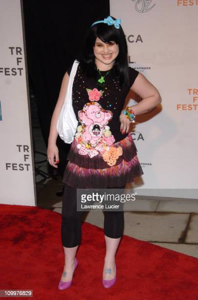 Kelly Osbourne during 4th Annual Tribeca Film Festival The Muppets' Wizard of Oz Premiere Arrivals at Tribeca Performing Arts Center in New York City...