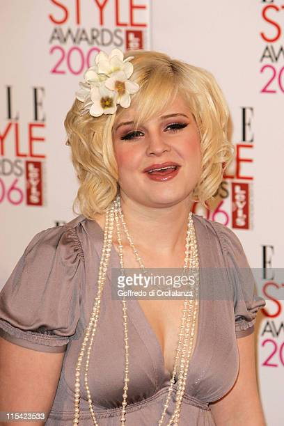 Kelly Osbourne during ELLE Style Awards 2006 Arrivals at Atlantis Gallery in London Great Britain