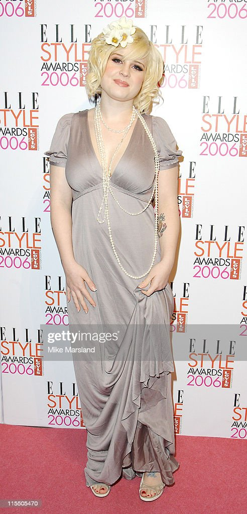Kelly Osbourne during Elle Style Awards 2006 - Inside Arrivals at Old Truman Brewery in London, Great Britain.