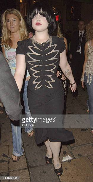 Kelly Osbourne during 'Fantastic Four' London Premiere After Party at CC Club in London Great Britain