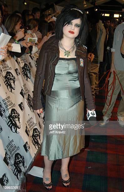 Kelly Osbourne during MTV Europe Music Awards 2003 Arrivals at Ocean Terminal Arena in Edinburgh Scotland