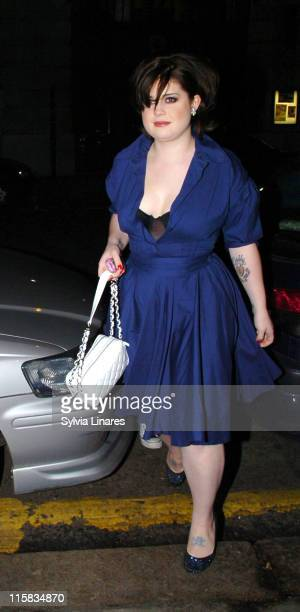 Kelly Osbourne during Scissor Sisters Charity Concert - Outside Arrivals at KoKo Club in London, Great Britain.
