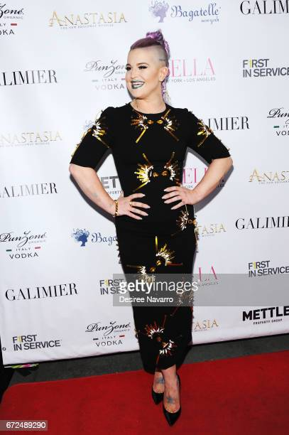 Kelly Osbourne hosts BELLA New York Spring Issue Cover Party at Bagatelle on April 24 2017 in New York City