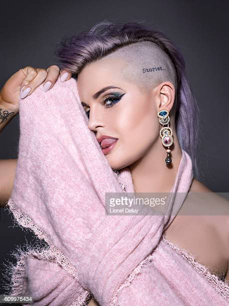 Kelly Osbourne is photographed for Rouge Magazine on July 20 2016 in Los Angeles California COVER IMAGE