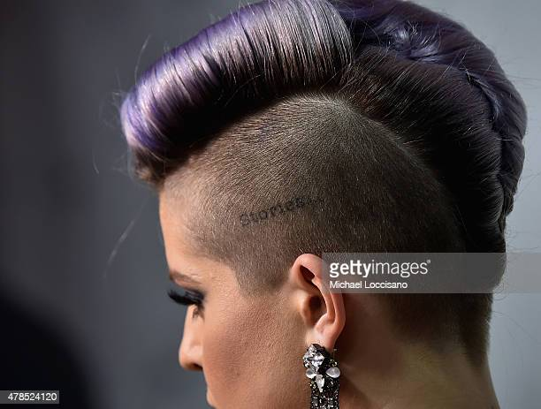 Kelly Osbourne jewlry detail attends Logo's Trailblazer Honors 2015 at the Cathedral of St John the Divine on June 25 2015 in New York City