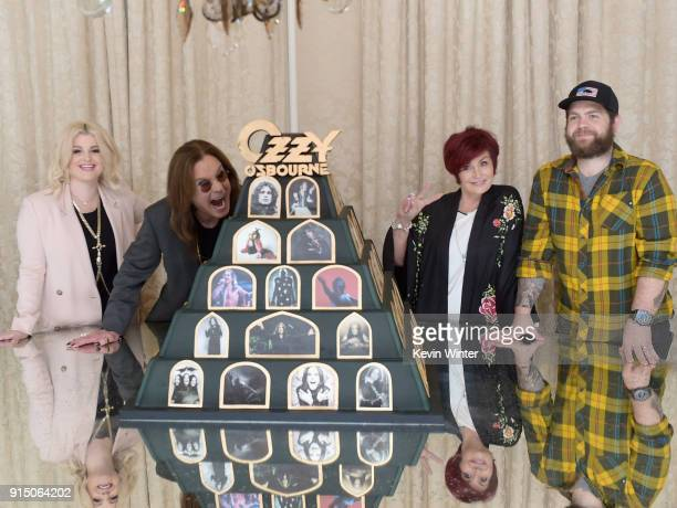 Kelly Osbourne Ozzy Osbourne Sharon Osbourne and Jack Osbourne at Ozzy Osbourne Announces 'No More Tours 2' Final World Tour At Press Conference At...