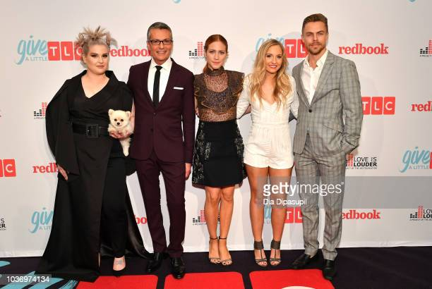 Kelly Osbourne Randy Fenoli Brittany Snow Jessie Chris and Derek Hough attend 2018 TLC's Give A Little Awards on September 20 2018 at Park Hyatt in...