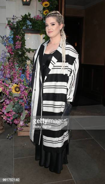 Kelly Osbourne seen attending Gay Times Pride Dinner at The Ivy Market Grill on July 4 2018 in London England