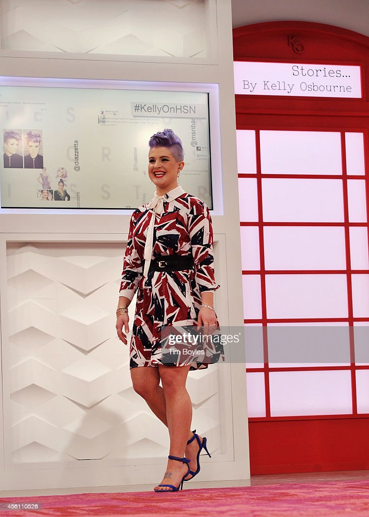 Kelly Osbourne Debuts Stories...By Kelly Osbourne For HSN : News Photo