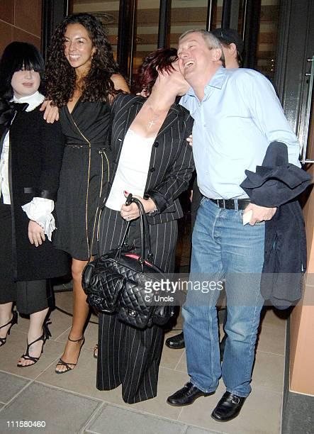 Kelly Osbourne, Terri Seymour, Sharon Osbourne and Louis Walsh