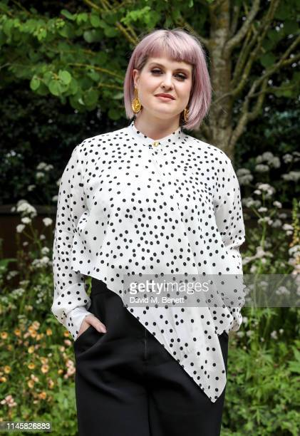 Kelly Osbourne visits the Wedgewood Garden & Tea Conservatory at the Chelsea Flower Show 2019 on May 24, 2019 in London, England.