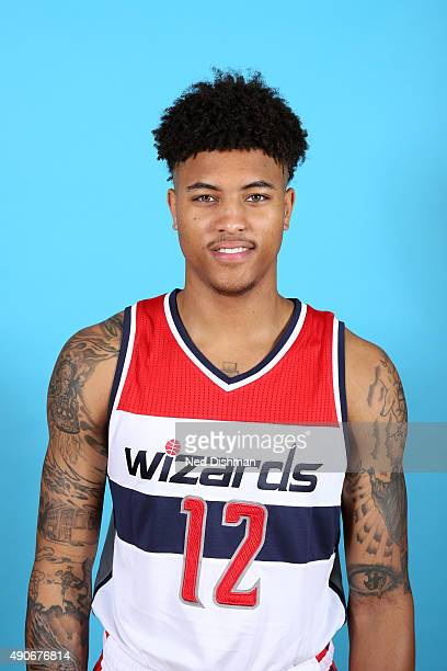 Kelly Oubre Jr #12 of the Washington Wizards poses for a photo during 2015 media day at the Verizon Center on May 18 2015 in Washington DC NOTE TO...