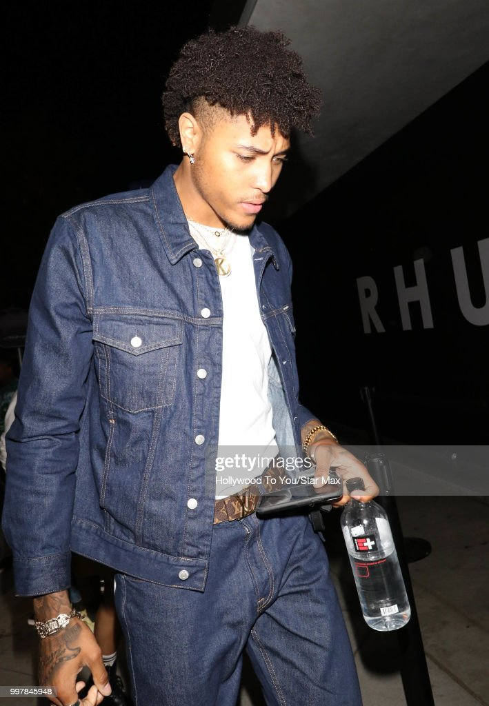 Kelly Oubre Jr. is seen on July 12, 2018 in Los Angeles, California.
