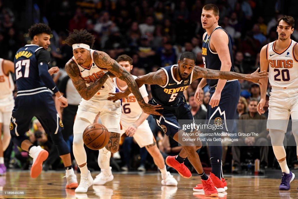 DENVER NUGGETS VS PHOENIX SUNS, NBA REGULAR SEASON : News Photo