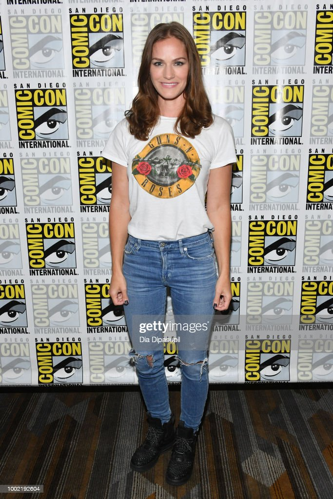 "Comic-Con International 2018 - SYFY'S ""Van Helsing"" Press line"