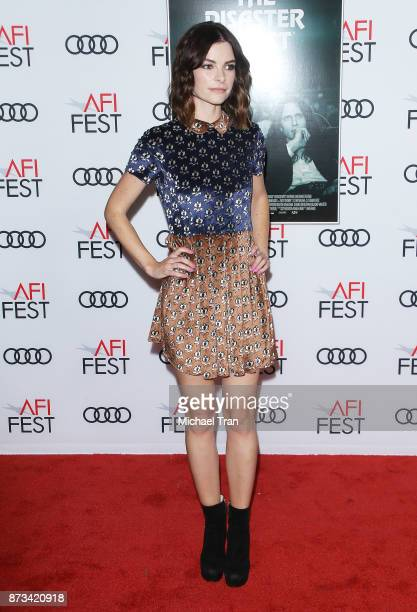Kelly Oxford arrives to the AFI FEST 2017 presented by Audi screening of 'The Disaster Artist' held at TCL Chinese Theatre on November 12 2017 in...