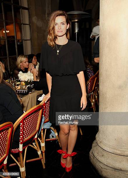 Kelly Oxford attends Jennifer Meyer for the Zoe Report Dinner at Chateau Marmont on June 18 2014 in Los Angeles California
