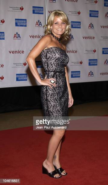 Kelly Packard during 1st Annual American Heart Awards Paint The Town Red Gala to Benefit The American Heart Association at Beverly Hilton Hotel in...