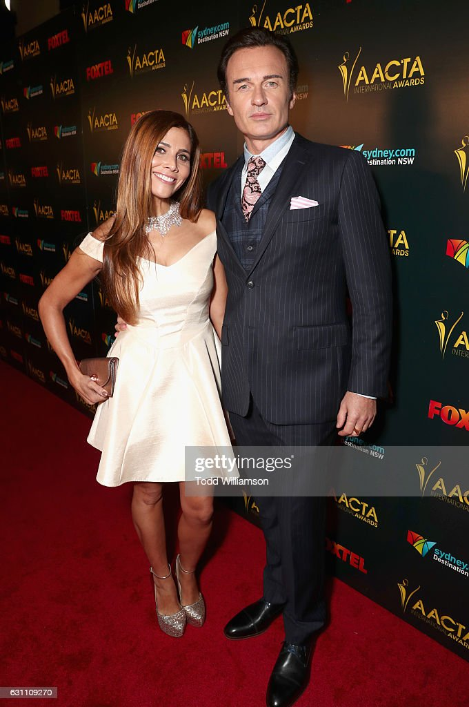 Kelly Paniagua and Actor Julian McMahon attend The 6th ... Todd Julian Actor