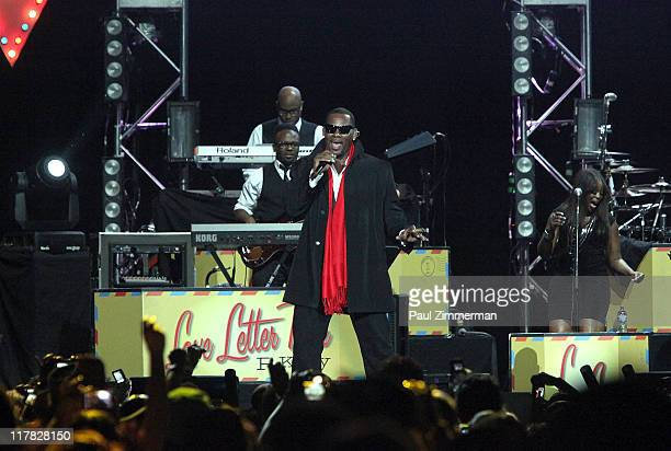 R Kelly performs at the Prudential Center on June 30 2011 in Newark New Jersey