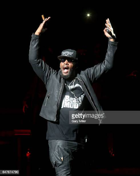 R Kelly performs in concert at The Bass Concert Hall on March 3 2017 in Austin Texas