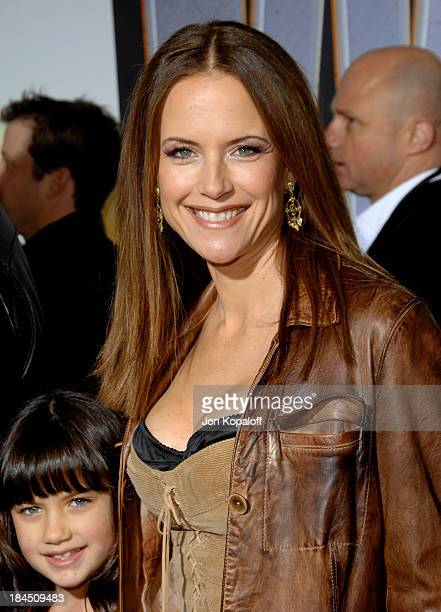 Kelly Preston and daughter during 'Wild Hogs' Los Angeles Premiere Arrivals at El Capitan Theater in Hollywood California United States