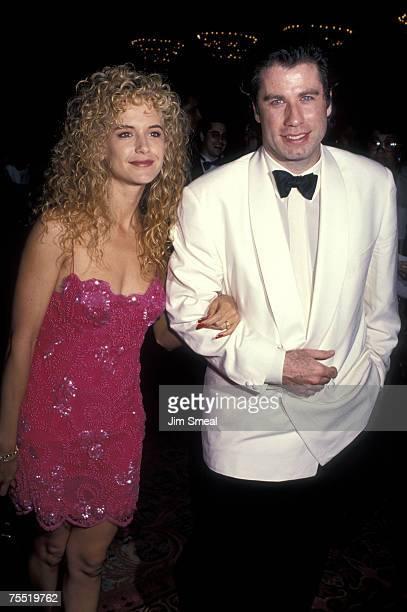 Kelly Preston and John Travolta at the Century Plaza Hotel in Los Angeles California