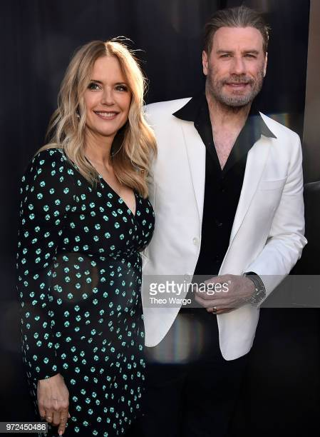 Kelly Preston and John Travolta attend the ceremony to honor John Travolta for his body of work in TV and Film in anticipation of the release of...