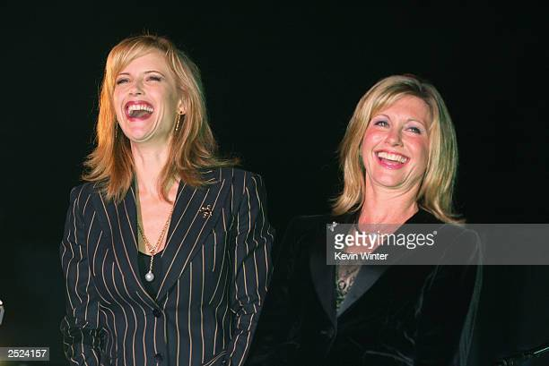 "Kelly Preston and Olivia Newton-John at ""One World, One Child Benefit Concert"" for the Children's Health Environmental Coalition honoring Meryl..."
