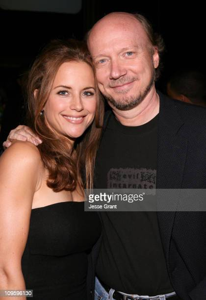 Kelly Preston and Paul Haggis during Movieline's Hollywood Life 8th Annual Young Hollywood Awards - Cocktail Reception in Los Angeles, California.