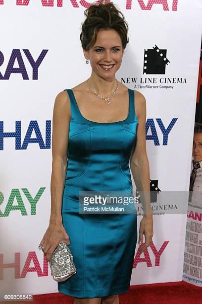 Kelly Preston attends HAIRSPRAY New York Premiere at The Ziegfeld Theatre on July 16 2007