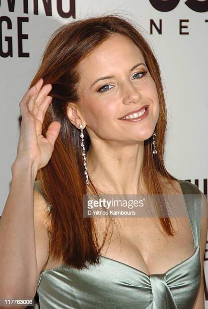 Kelly Preston attends 'Moving Image Salutes John Travolta' at the Waldorf Astoria Hotel in New York City on Sunday November 5 2004
