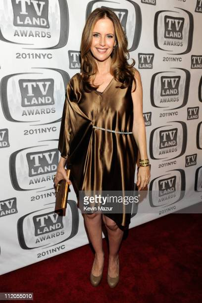 Kelly Preston attends the 9th Annual TV Land Awards at the Javits Center on April 10 2011 in New York City