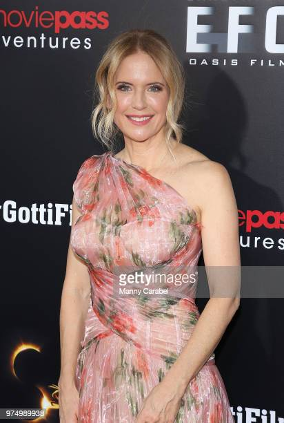 Kelly Preston attends the New York Premiere of Gotti at SVA Theater on June 14 2018 in New York City