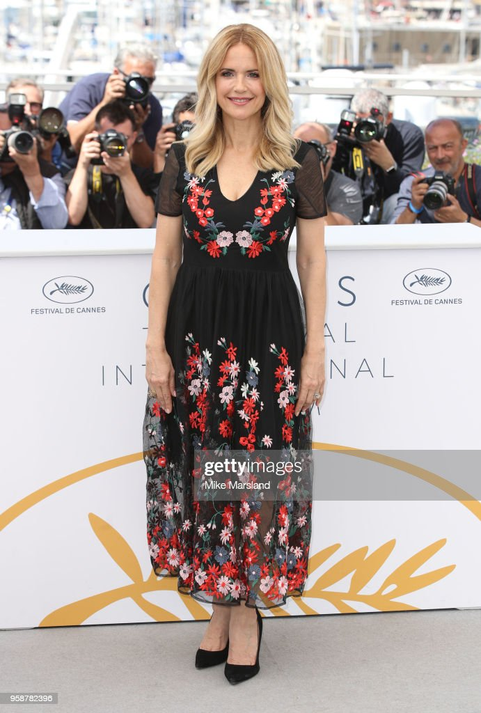 Kelly Preston attends the photocall for the 'Gotti' during the 71st annual Cannes Film Festival at Palais des Festivals on May 15, 2018 in Cannes, France.