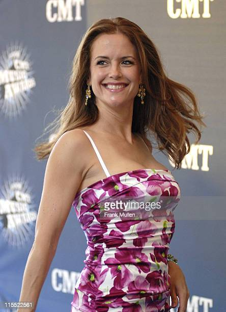 Kelly Preston during 2006 CMT Music Awards Arrivals at Curb Event Center at Belmont University in Nashville Tennessee United States
