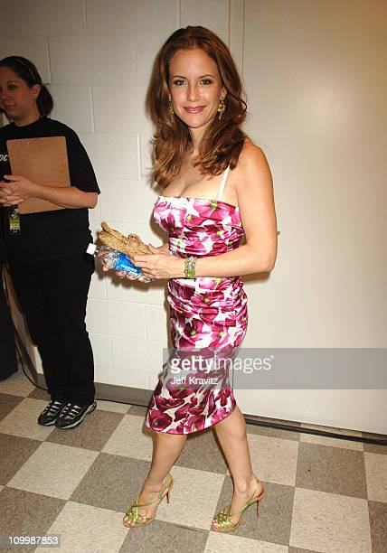 Kelly Preston during 2006 CMT Music Awards Backstage and Audience at Curb Events Center at Belmont University in Nashville Tennessee United States