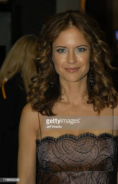 Kelly Preston during 31st Annual American Music Awards Backstage and Audience at The Shrine Auditorium in Los Angeles California United States
