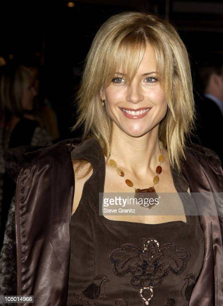 Kelly Preston during '8 Mile' Westwood Premiere at Mann Village Theatre in Westwood California United States
