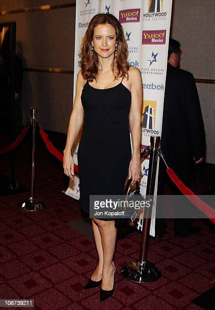 Kelly Preston during ' A Love Song For Bobby Long ' Premiere at The Hollywood Film Festival's Closing Night Gala at The Arc Light Theater in Los...